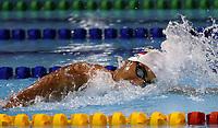 BARRANQUILLA - COLOMBIA, 20-07-2018: Final natación pecho Mujeres como parte de los Juegos Centroamericanos y del Caribe Barranquilla 2018. /  Men's breast style swimming final category of the Central American and Caribbean Sports Games Barranquilla 2018. Photo: VizzorImage /  Cont