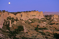 Moonrise over Slim Buttes, Custer National Forest, Harding County, South Dakota, AGPix_0303.