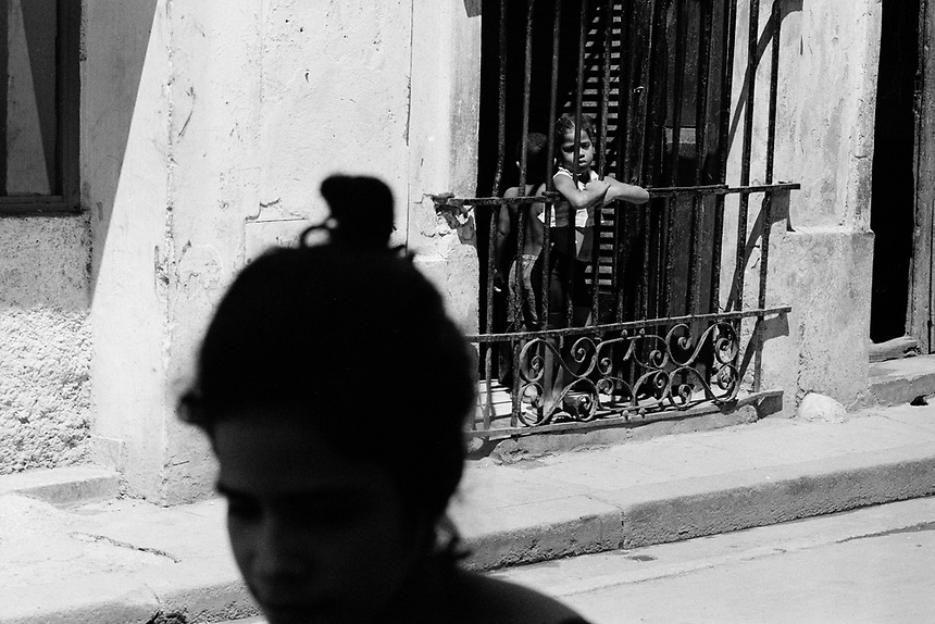 On the streets of Havana, Cuba, at the millennium.