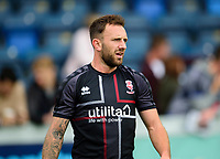 Lincoln City's Neal Eardley during the pre-match warm-up<br /> <br /> Photographer Andrew Vaughan/CameraSport<br /> <br /> The EFL Sky Bet League One - Wycombe Wanderers v Lincoln City - Saturday 7th September 2019 - Adams Park - Wycombe<br /> <br /> World Copyright © 2019 CameraSport. All rights reserved. 43 Linden Ave. Countesthorpe. Leicester. England. LE8 5PG - Tel: +44 (0) 116 277 4147 - admin@camerasport.com - www.camerasport.com