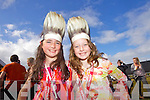 TRAVELLED: Claudia Murphy and Lily Dunne to see JEDWARD at the Atlantic Music Sessions Festival on Sunday in Ballybunion..