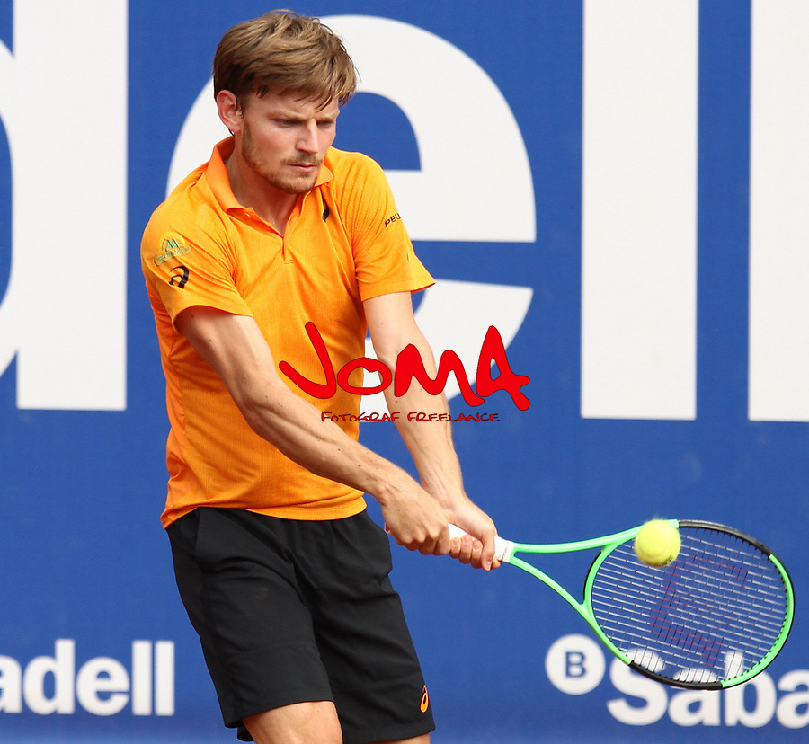 27.04.2017 Barcelona Open Banc Sabadell . Goffin in action