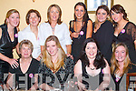 Hen PARTY: Having a great night at her Hen Party on Saturday in The Cookery Restaurant, Tralee, was Patricia Somers of Abbeydorney. Front l-r: Eileen Somers, Patricia Somers, Lena Dennehy and Brenda Brennan. Back l-r: Aileen Ward, Kay Sheehan, Bridget Conway, Katherine Conway, Stephanie Somers and Sinead Somers..