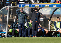 Gareth Ainsworth manager of Wycombe Wanderers during the Sky Bet League 2 match between Wycombe Wanderers and Notts County at Adams Park, High Wycombe, England on the 25th March 2017. Photo by Liam McAvoy.
