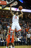 Virginia  defeated Syracuse 73-65 in ACC basketball game Sunday Jan. 24, 2016, in Charlottesville, Va. (Photo/Andrew Shurtleff)