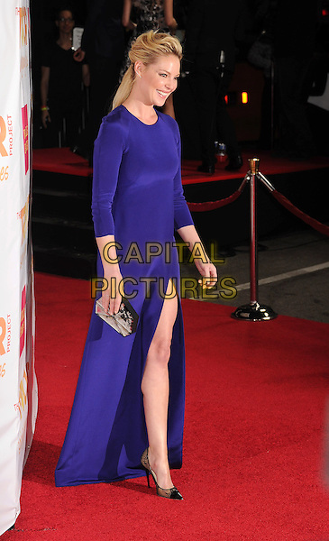 LOS ANGELES, CA - DECEMBER 07: Actress Katherine Heigl arrives at TrevorLIVE Los Angeles at Hollywood Palladium on December 7, 2014 in Los Angeles, California.<br /> CAP/ROT/TM<br /> &copy;TM/ROT/Capital Pictures
