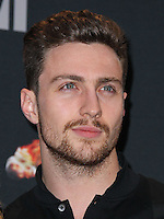 LOS ANGELES, CA, USA - APRIL 13: Aaron Taylor-Johnson in the press room at the 2014 MTV Movie Awards held at Nokia Theatre L.A. Live on April 13, 2014 in Los Angeles, California, United States. (Photo by Xavier Collin/Celebrity Monitor)