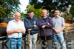 Patrick Sheehan, Johnathan Kissane, Mike Kissane and Con Sheehan at Kenmare Fair