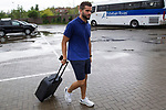 Spainsh Nacho Fernandez arriving at the concentration of the spanish national football team in the city of football of Las Rozas in Madrid, Spain. August 28, 2017. (ALTERPHOTOS/Rodrigo Jimenez)