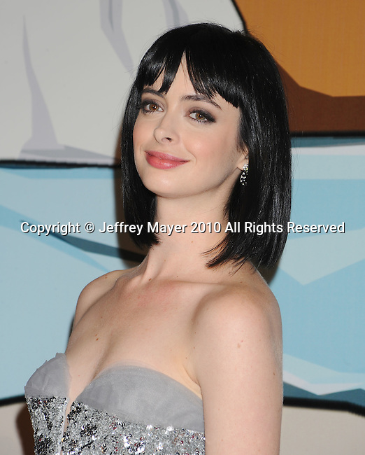 "HOLLYWOOD, CA. - November 17: Krysten Ritter arrives at the ""BFF & Baby"" Official Film Wrap Party at the Colony on November 17, 2010 in Hollywood California."