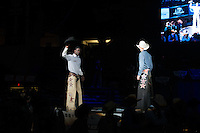 Neil Holmes and Kade Alberty during the second round of PBR Blue Def Tour event in Wheeling, WV - 3.19.2016. Photo by Christopher Thompson