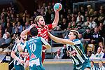 Stockholm 2013-11-10 Handboll Elitserien Hammarby IF - Eskilstuna Guif :  <br /> Eskilstuna Guif Richard &Aring;kerman i aktion <br /> (Foto: Kenta J&ouml;nsson) Nyckelord: