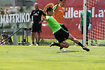 11.07.2017, Sportplatz, Zell am Ziller, AUT, TL Werder Bremen 2017 - Training Tag 05, <br /> <br /> im Bild <br /> Milos Veljkovic (Werder Bremen #13)<br /> Yuning Zhang (Neuzugang SV Werder Bremen #19)<br /> Foto &copy; nordphoto / Kokenge