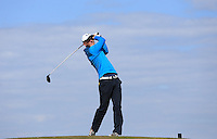 Tom Dolan during Round Two of the West of England Championship 2016, at Royal North Devon Golf Club, Westward Ho!, Devon  23/04/2016. Picture: Golffile | David Lloyd<br /> <br /> All photos usage must carry mandatory copyright credit (&copy; Golffile | David Lloyd)
