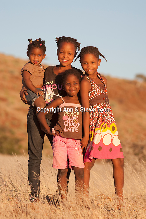 Kids in Namibia, Africa