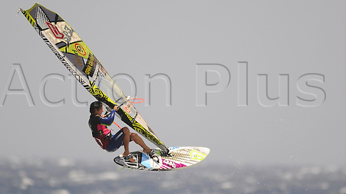 06.07.2012. Grand Canary Island, Spain. PWA Pozo World Cup Final.  Philip Köster (Starboard / NeilPryde) won the single elimination ahead of Victor Fernandez (Fanatic / North) after a long battle between the two riders.