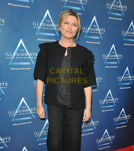 "Tina Hobley at the ""The Illusionists"" show press night, Shaftesbury Theatre, Shaftesbury Avenue, London, England, UK, on Wednesday 10th July 2019.<br /> CAP/CAN<br /> ©CAN/Capital Pictures"