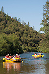 The Foothill Conservancy and OARS run a special raft and paddle trip on the Electra Run to Middle Bar on the Mokelumne River