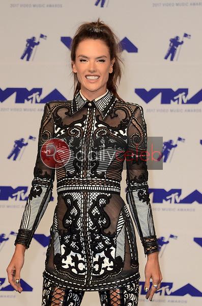Alessandra Ambrosio<br /> at the 2017 MTV Video Music Awards, The Forum, Inglewood, CA 08-27-17<br /> David Edwards/DailyCeleb.com 818-249-4998