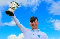 Sam Murphy (Portumna) winner of the Connacht U16 Boys Open 2018 at the Gort Golf Club, Gort, Galway, Ireland on Wednesday 8th August 2018.<br /> Picture: Thos Caffrey / Golffile<br /> <br /> All photo usage must carry mandatory copyright credit (&copy; Golffile | Thos Caffrey)