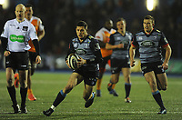 Cardiff Blues&rsquo; Lloyd Williams<br /> <br /> Photographer Kevin Barnes/CameraSport<br /> <br /> Guinness Pro14  Round 14 - Cardiff Blues v Toyota Cheetahs - Saturday 10th February 2018 - Cardiff Arms Park - Cardiff<br /> <br /> World Copyright &copy; 2018 CameraSport. All rights reserved. 43 Linden Ave. Countesthorpe. Leicester. England. LE8 5PG - Tel: +44 (0) 116 277 4147 - admin@camerasport.com - www.camerasport.com