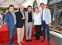 Mitchell Hurwitz, Jeffrey Tambor, Jason Bateman, Jessica Walter, Will Arnett  at the Hollywood Walk of Fame Star Ceremony honoring actor Jason Bateman. Los Angeles, USA 26 July 2017<br /> Picture: Paul Smith/Featureflash/SilverHub 0208 004 5359 sales@silverhubmedia.com