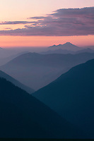 Mt. Baker from Meadow Mountain<br /> Glacier Peak Wilderness<br /> Mt. Baker-Snoqualmie National Forest<br /> Cascade Range,  Washington