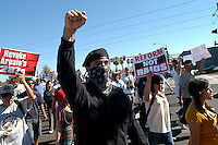 AJ ALEXANDER/AAP 22809 - Stop Sheriff Joe Araio Protest March on Central and on 287g law in Arizona. Phoenix, Arizona.Photo by AJ ALEXANDER (c)