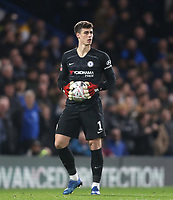 Chelsea's Kepa Arrizabalaga<br /> <br /> Photographer Rob Newell/CameraSport<br /> <br /> The Emirates FA Cup Fifth Round - Chelsea v Liverpool - Tuesday 3rd March 2020 - Stamford Bridge - London<br />  <br /> World Copyright © 2020 CameraSport. All rights reserved. 43 Linden Ave. Countesthorpe. Leicester. England. LE8 5PG - Tel: +44 (0) 116 277 4147 - admin@camerasport.com - www.camerasport.com