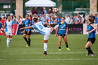 Kansas City, MO - Wednesday August 16, 2017: Camila Martins Pereira during a regular season National Women's Soccer League (NWSL) match between FC Kansas City and the Orlando Pride at Children's Mercy Victory Field.