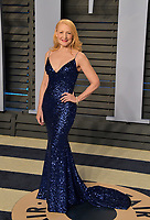 BEVERLY HILLS, CA - MARCH 4: Patricia Clarkson arrives at the 2018 Vanity Fair Oscar Party at the Wallis Annenberg Center for the Performing Arts on March 4, 2018 in Beverly Hills, California.(Photo by Scott Kirkland/PictureGroup)