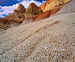 Bentonite Hills, Circle Cliffs, Grand Staircase-Escalante National Monument, Utah