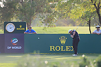 Shane Lowry (IRL) on the 13th tee during the Pro-Am for the DP World Tour Championship at the Jumeirah Golf Estates in Dubai, UAE on Monday 16/11/15.<br /> Picture: Golffile | Thos Caffrey<br /> <br /> All photo usage must carry mandatory copyright credit (© Golffile | Thos Caffrey)