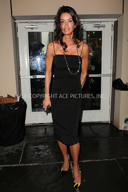 WWW.ACEPIXS.COM . . . . . ....September 11 2009, New York city....Janice Dickinson arriving at Mercedes Benz New York Fashion Week on September 11 2009 in New York City....Please byline: KRISTIN CALLAHAN - ACEPIXS.COM.. . . . . . ..Ace Pictures, Inc:  ..tel: (212) 243 8787 or (646) 769 0430..e-mail: info@acepixs.com..web: http://www.acepixs.com