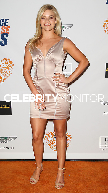 CENTURY CITY, CA, USA - MAY 02: Witney Carson at the 21st Annual Race To Erase MS Gala held at the Hyatt Regency Century Plaza on May 2, 2014 in Century City, California, United States. (Photo by Celebrity Monitor)