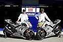 July, 22, 2010 - Laguna Seca, USA - Fiat-Yamaha's riders Jorge Lorenzo (left) and Valentino Rossi (right) pose next to their bikes prior to the U.S. Grand Prix held on July 25, 2010. (Photo Andrew Northcott/Nippon News)