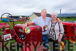 Enjoying the  6th annual Mid Kerry Vintage Rally in Castlemaine were Dan Reidy and Noreen O'Connor