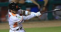 Jorge Flores de Naranjeros, durante la apertura de la temporada de beisbol de la Liga Mexicana del Pacifico 2017 2018 con el partido entre Naranjeros vs Yaquis. 11 octubre2017 . <br /> (Foto: Luis Gutierrez /NortePhoto.com)