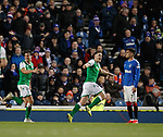 05.02.2020 Rangers v Hibs:  Paul Hanlon scores and celebrates