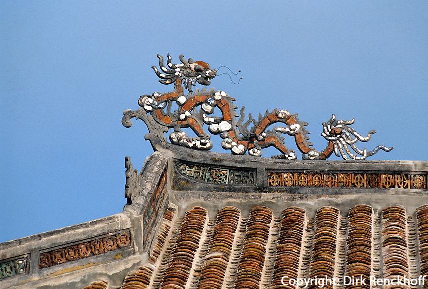 Kaisergrab Tu Duc in Hue, Vietnam, Unesco-Weltkulturerbe