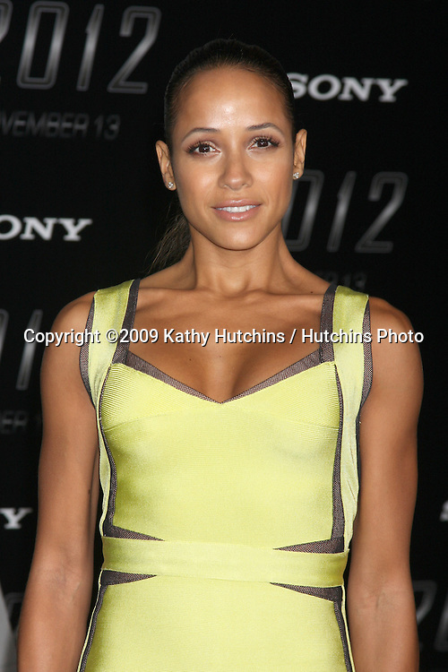 "Dania Ramirez.arriving at the ""2012"" Premiere.Regal 14 Theaters at LA Live.West Hollywood,  CA.November 3, 2009.©2009 Kathy Hutchins / Hutchins Photo."