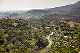 INDONESIA, Flores, elevated view from the Rendu area looking towards Ebulobo Mountain