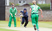Scotland V Ireland - Women's Cricket International - Scotland bat Lorna Jack tries to make runs late in the innings, in todays T20 match at Forthill, Broughty Ferry - picture by Donald MacLeod - 01.08.2017 - 07702 319 738 - clanmacleod@btinternet.com - www.donald-macleod.com