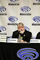 Steven Melching at Wondercon in Anaheim Ca. March 31, 2019