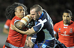 29/10/2013 - Tonga v Scotland - Group C - Rugby League World Cup - Derwent Stadium - Workington - UK