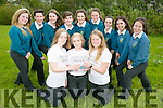 "Mounthawk Students who came first in their category with their project called "" Serving Smiles ""which is about Positive Mental Health. The Students won The Making Our World Healthier  Mental Health. Pictured front l-r  Julie O'Grady, Olivia Moriarty and Rachel Deasy. Back l-r Lauren Barrett, Jack Lopez, David Broderick, Emma Ryan, Maura Daly, Edel Moran, Ava McCarthy and Jodie O'Halloran"