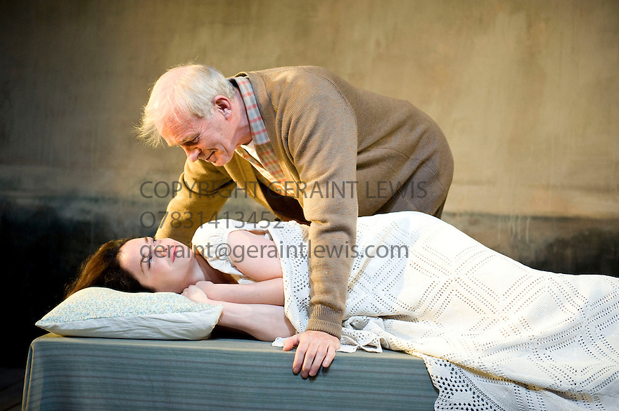 Through A Glass Darkly,by Ingmar Bergman,adapted by Jenny Worton.Directed by Michael Attenborough.With Ruth Wilson as Karin,Ian McElhinney as David. Opens at The Almeida Theatre on 16/6/10 Credit Geraint Lewis