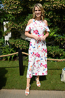 Charlotte Hawkins<br /> at the Chelsea Flower Show 2018, London<br /> <br /> ©Ash Knotek  D3402  21/05/2018