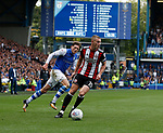 Paul Coutts of Sheffield Utd during the Championship match at the Hillsborough Stadium, Sheffield. Picture date 24th September 2017. Picture credit should read: Simon Bellis/Sportimage