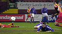 11/2/04          Copyright Pic : James Stewart.File Name : jspa06_partick_livvy.DAVID MCNAMEE SCORES AN OWN GOAL......James Stewart Photo Agency 19 Carronlea Drive, Falkirk. FK2 8DN      Vat Reg No. 607 6932 25.Office     : +44 (0)1324 570906     .Mobile  : +44 (0)7721 416997.Fax         :  +44 (0)1324 570906.E-mail  :  jim@jspa.co.uk.If you require further information then contact Jim Stewart on any of the numbers above.........